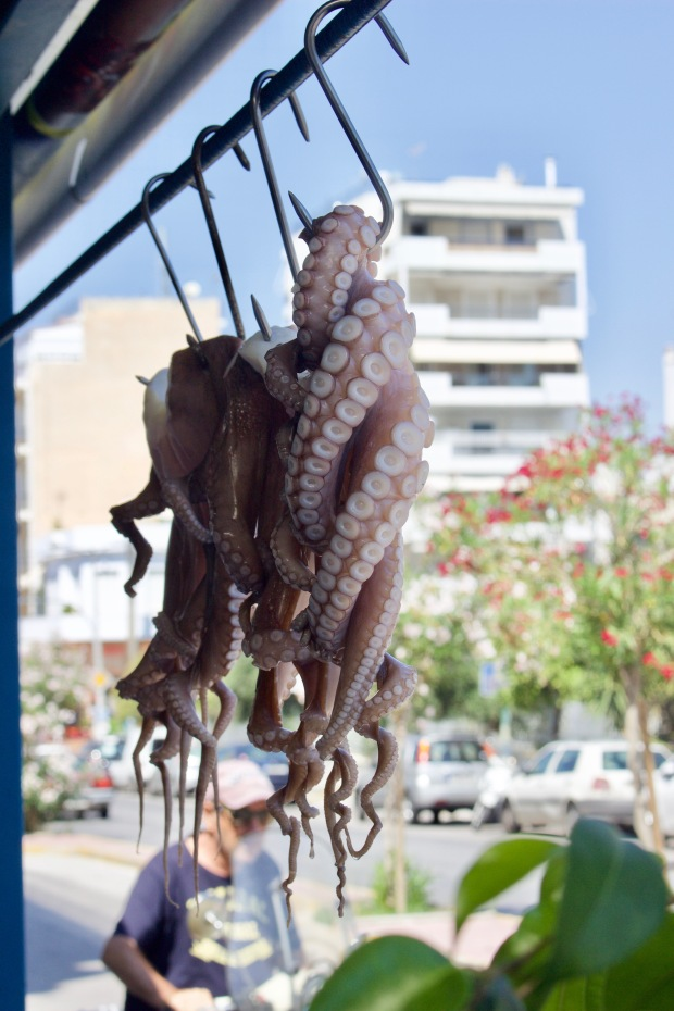 O Giannis Fish Tavern octopus
