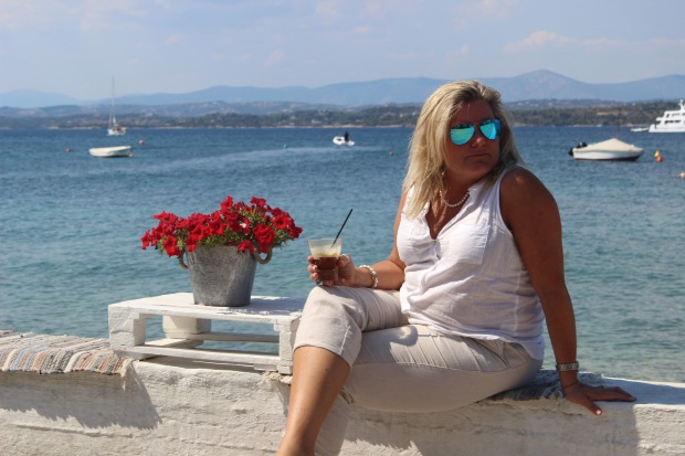 Spetses and coffee